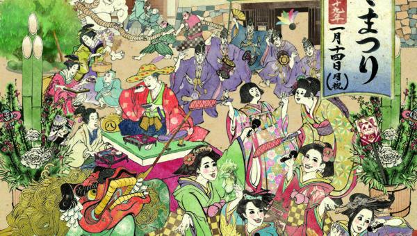 名古屋城冬まつりで平成最後の素敵な年越しを!