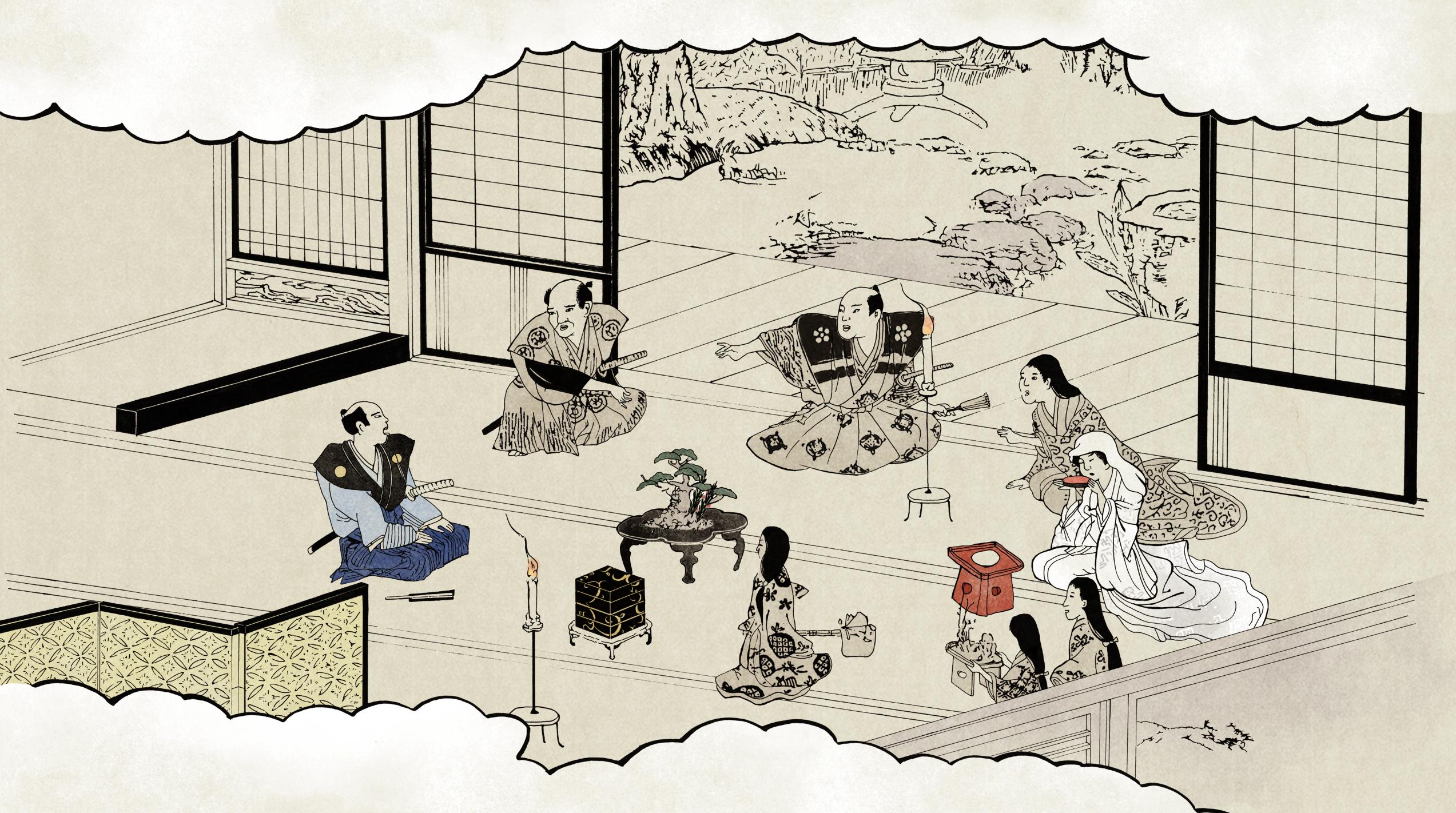 太閤記映像用 作画 30枚