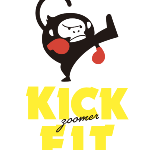 KICK FIT by ZOOMER様ロゴデザイン