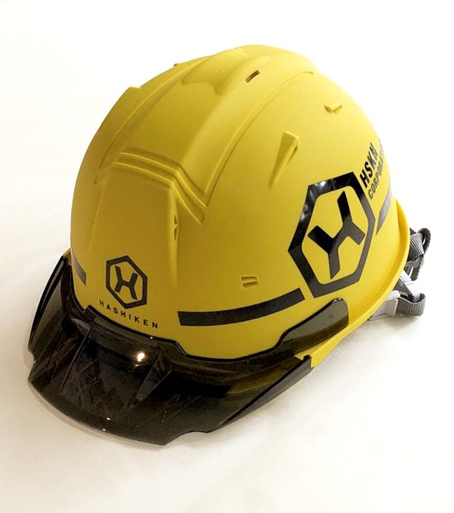 株式会社橋建さま オリジナルヘルメット