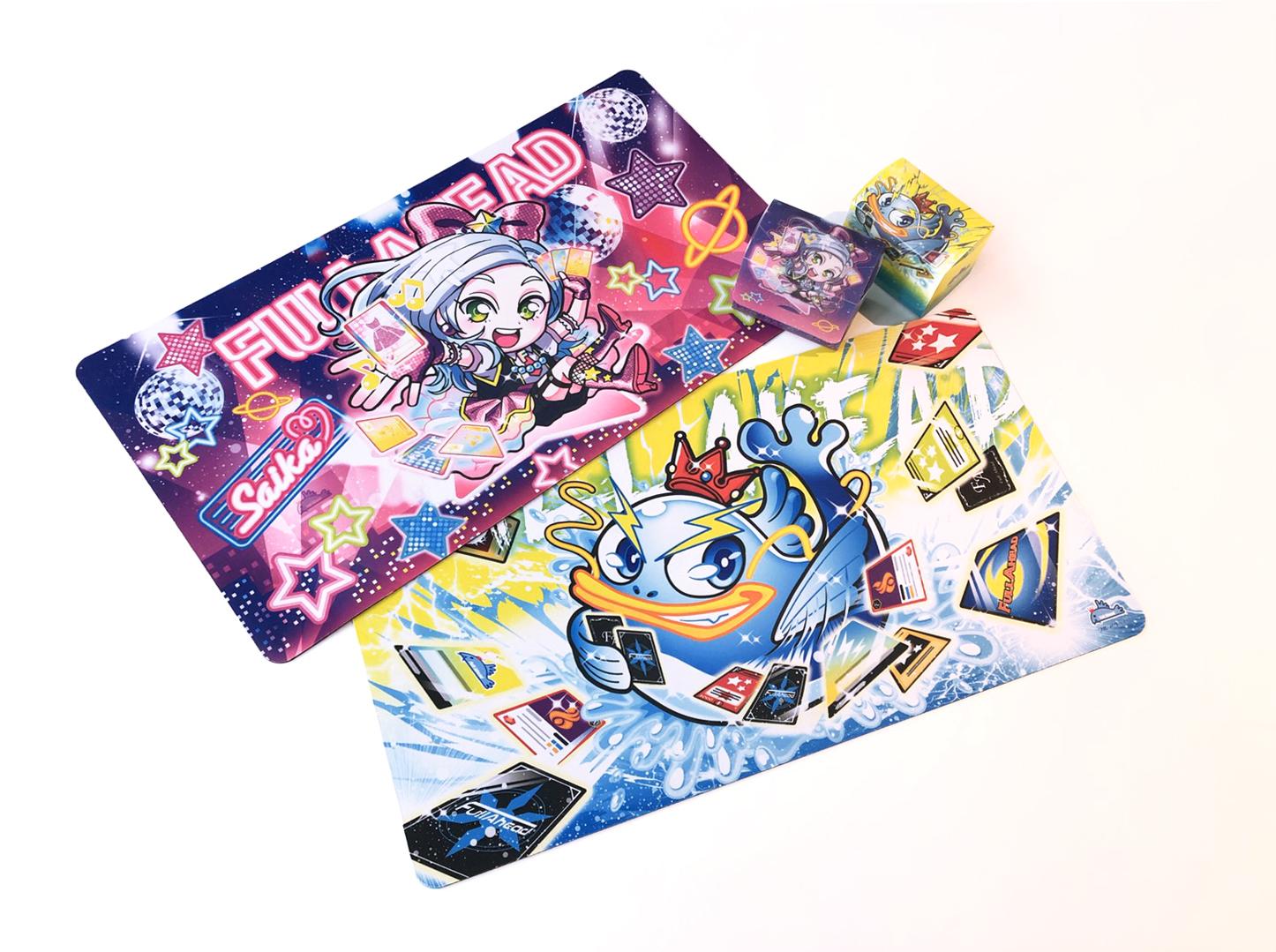 フルアヘッド様 オリジナル カードゲームプレイマット