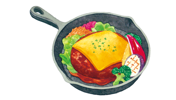 カフェやバーのデザインにぴったり・水彩タッチのイラストの魅力。イラスト制作なら名古屋市鶴舞のアークデザイン