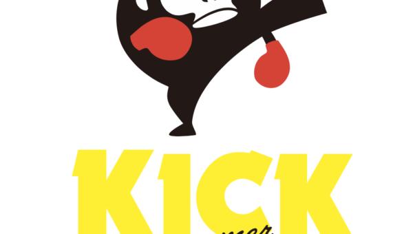 名古屋・栄でキックボクシングフィットネス!KICK FIT by ZOOMER🐵🥊のロゴデザインを制作致しました!😆✨
