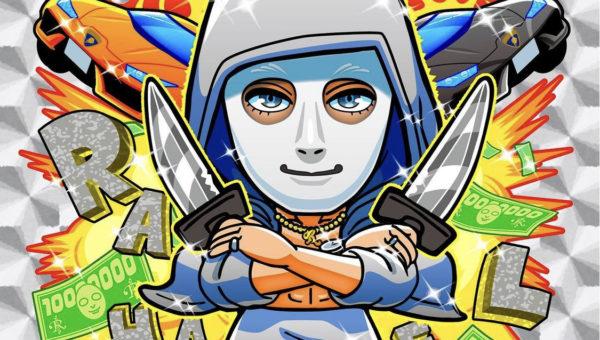✨✨名古屋市鶴舞のアークデザイン✨ YouTube界の 卍 帝王 卍 ラファエルさんのキラキラシールを製作させていただきました ❣️❣️
