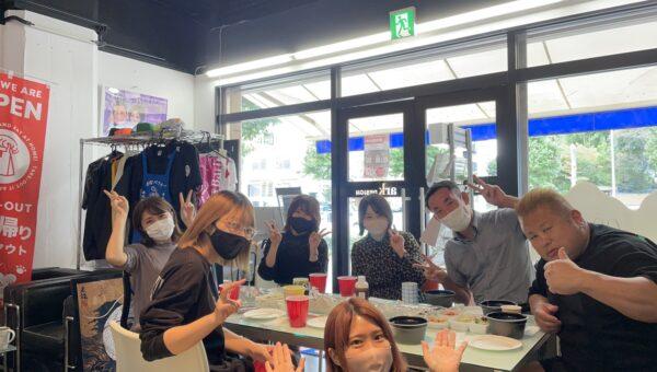 【楽し過ぎて】名古屋市鶴舞のアークデザイン!ロゴ等制作させていただいた「シゼンヤキンパ」さんのお料理をテイクアウトしてランチ会しました〜!!【語彙失った】